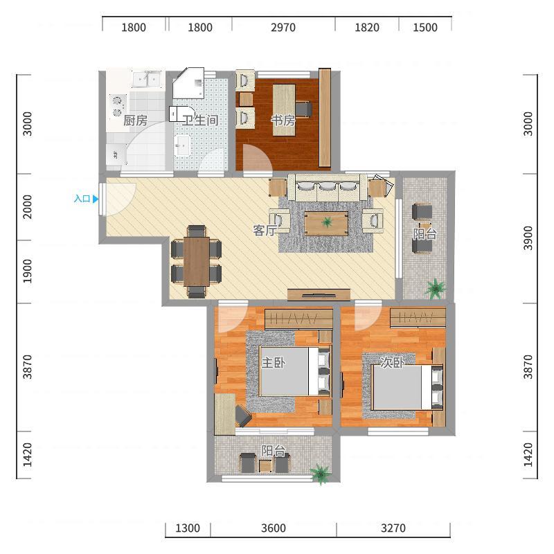 国信·国际公馆-副本户型图