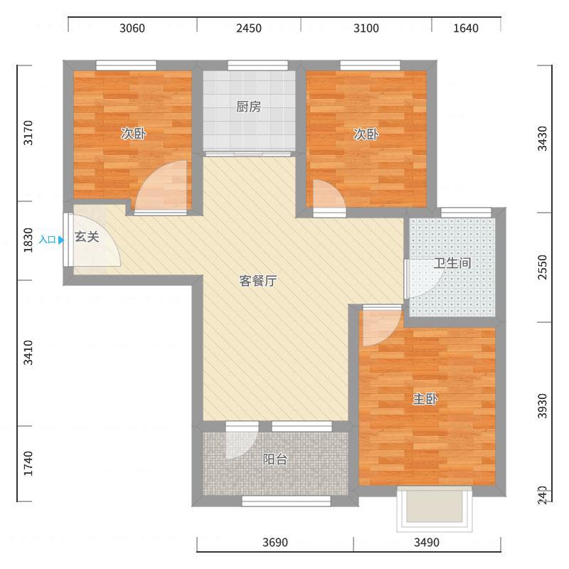 青岛_海尔地产悦湖兰庭_2017-10-19-2233户型图