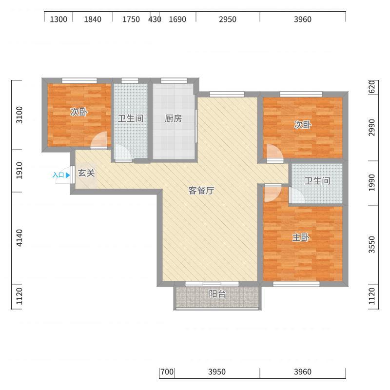 哈尔滨_万达华宅_2017-10-19-2109户型图