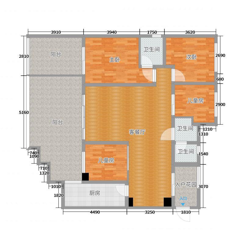 汉安国际建模户型图