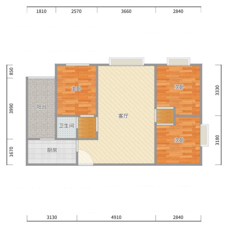 24号楼1号户型图