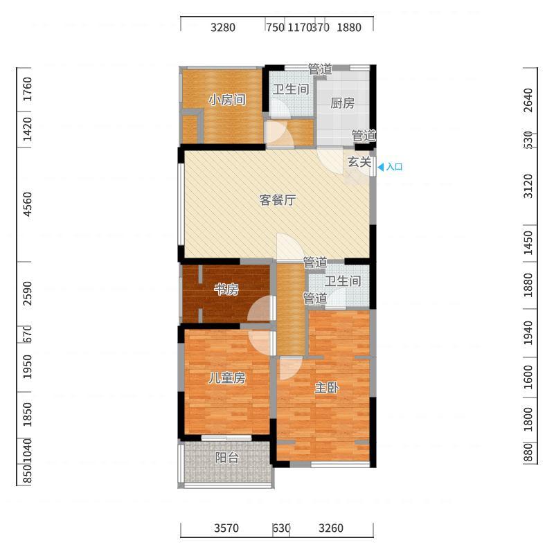南通_海安雨润广场_2017-10-19-1758户型图