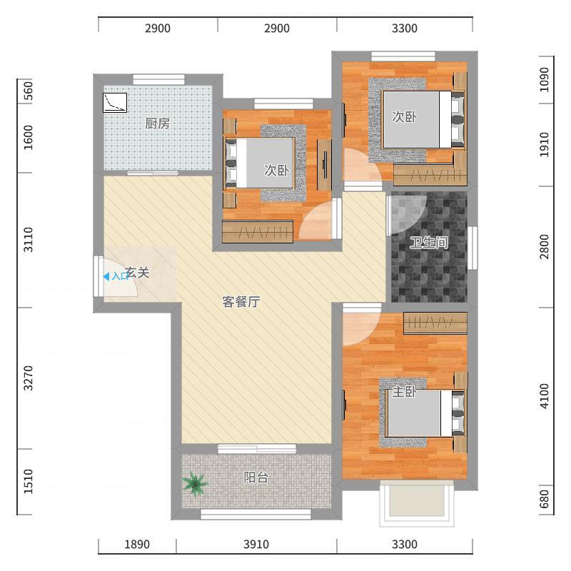中船七号楼_2017-10-19-2318户型图