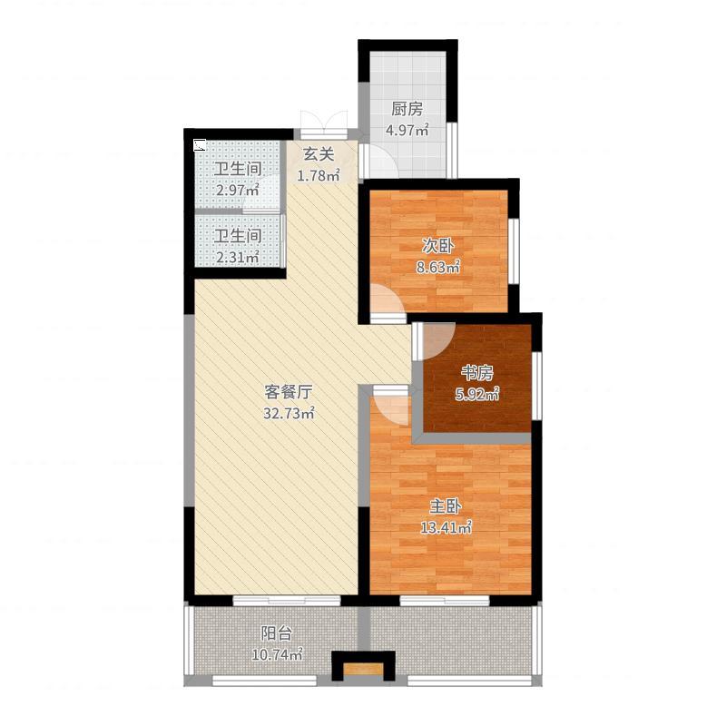 西安_名城天下_2017-10-15-0928-副本户型图
