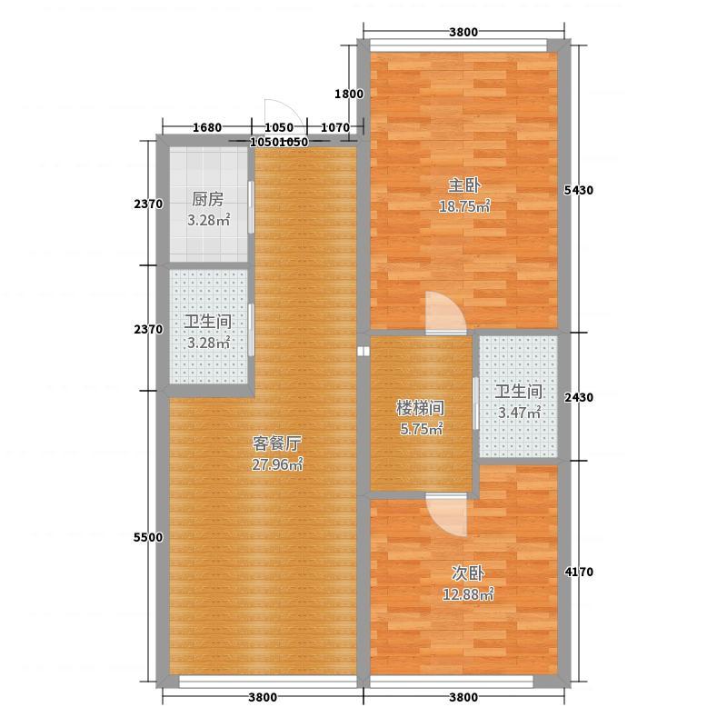 结构1111户型图