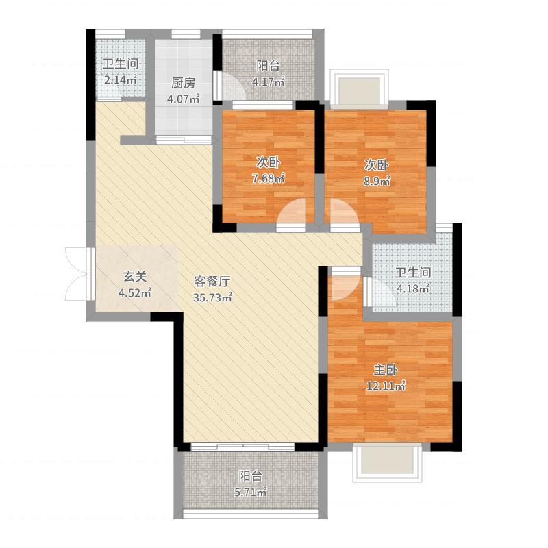 岳阳_龙骧・华城_2017-10-19-0907户型图