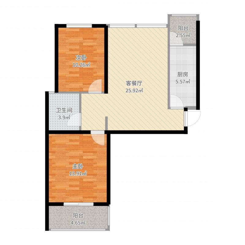 石家庄_中城花溪畔_2017-10-19-1336户型图
