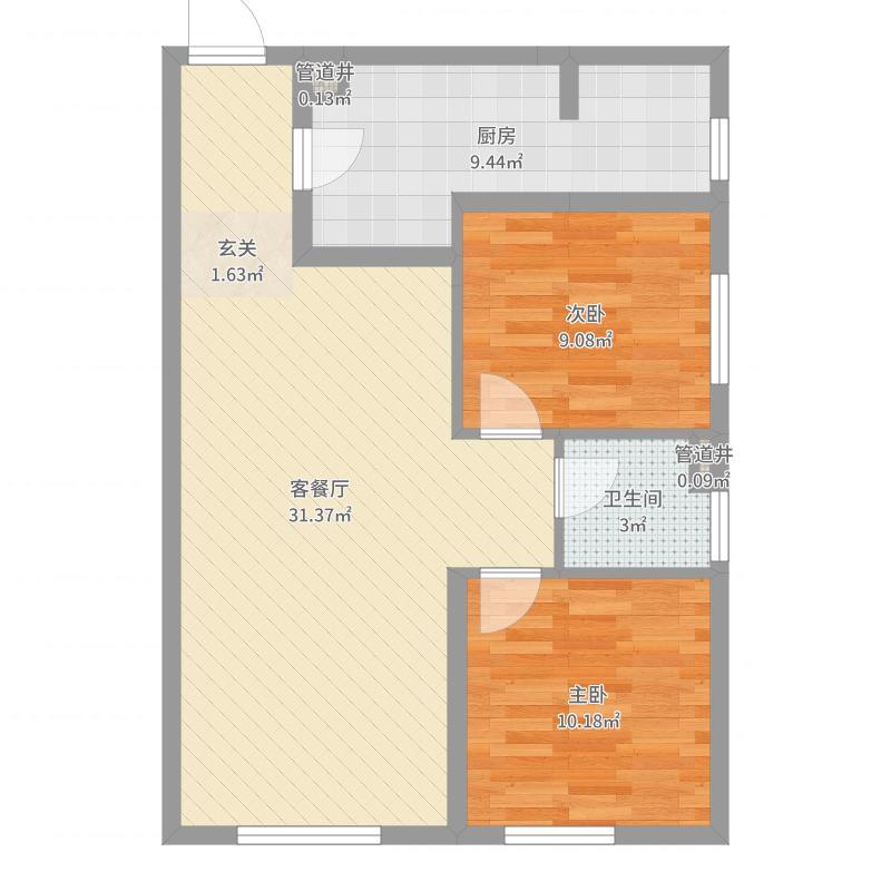 中海・寰宇天下_6-38层墙板户型图