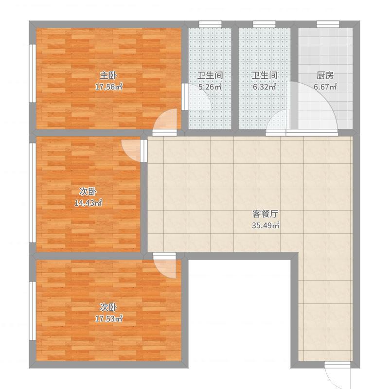 苏州_太仓宝龙广场_2017-10-19-1141户型图