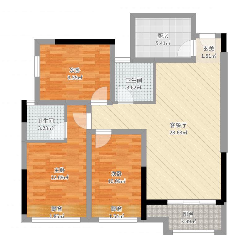 重庆_置铖御府_2017-10-19-1231户型图