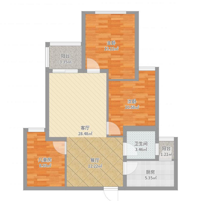 中央香榭户型图
