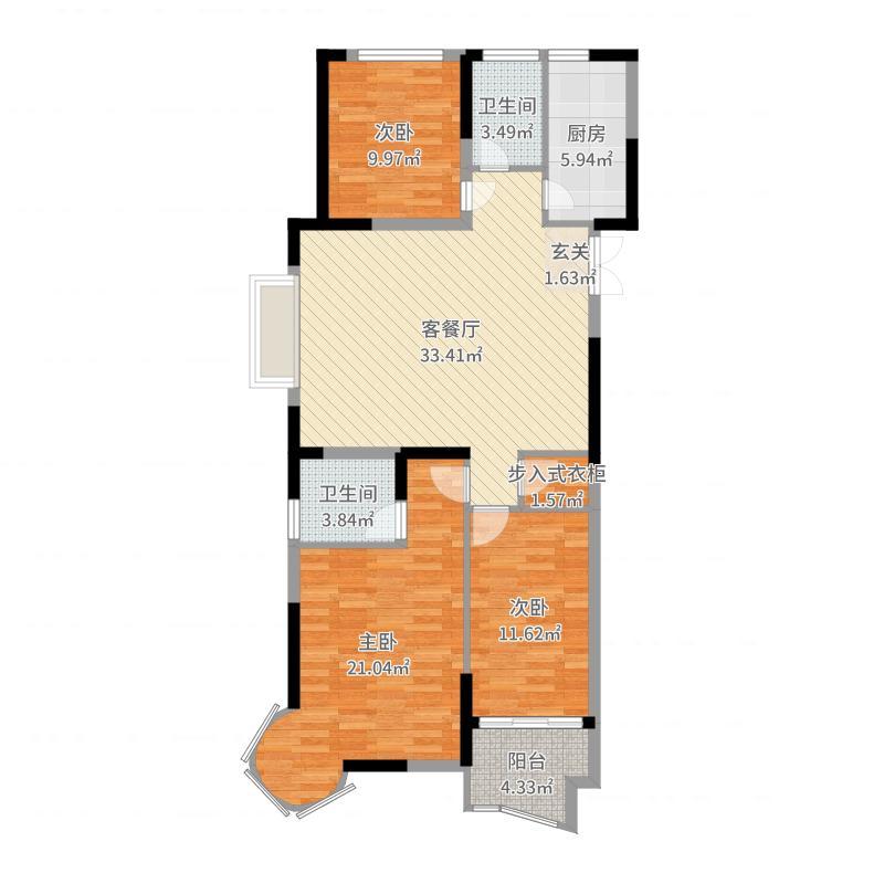 青岛_华林国际公馆_2017-10-19-1729户型图