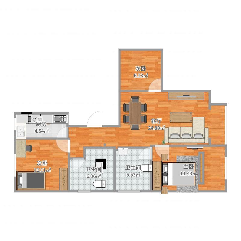 南海家园户型图