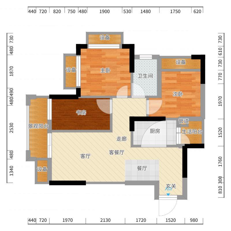 重庆国际家纺城户型图