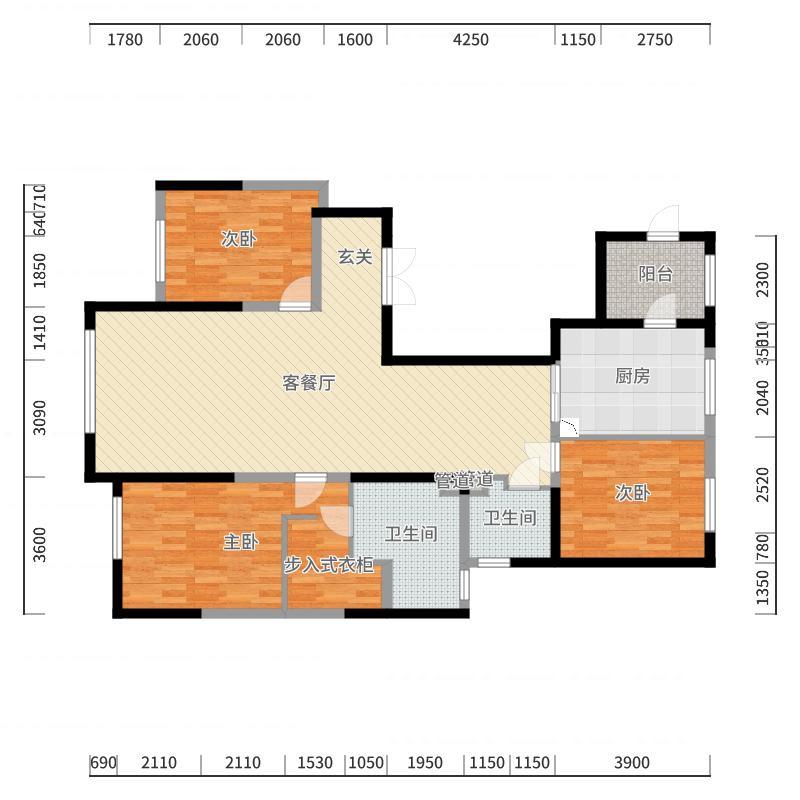 0454街区户型图