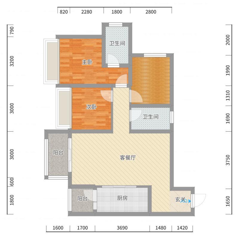 重庆_鲁能领秀城_2017-10-20-1538户型图