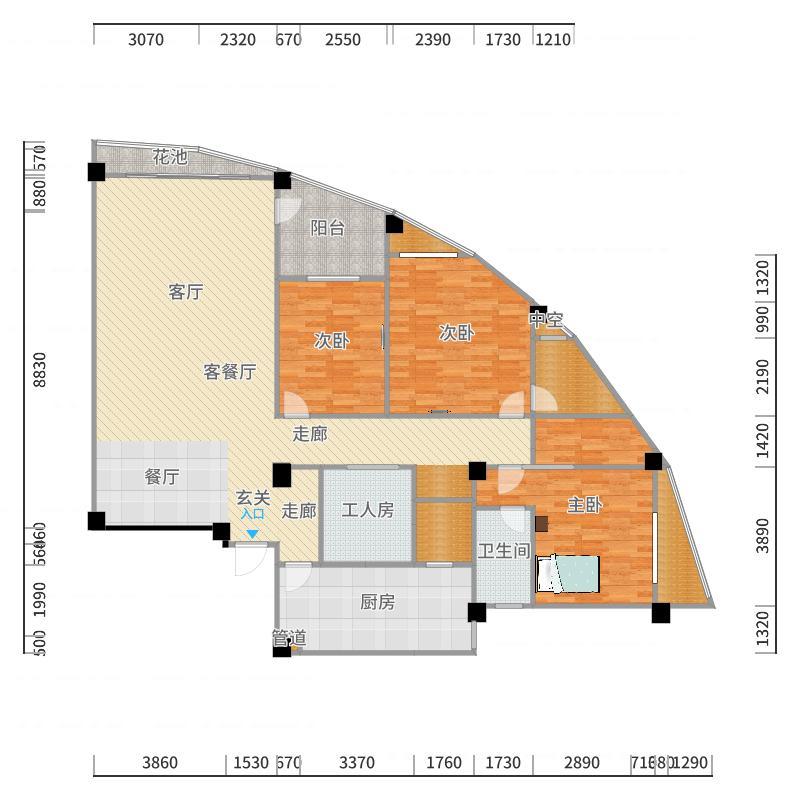 南宁_恒大苹果园_2017-10-20-1656户型图