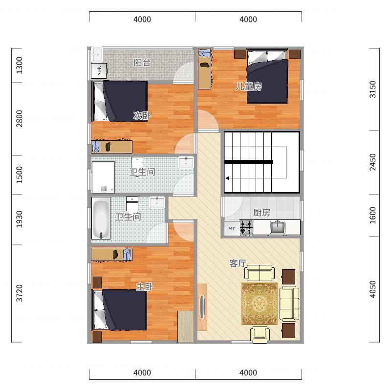 二楼(6)户型图