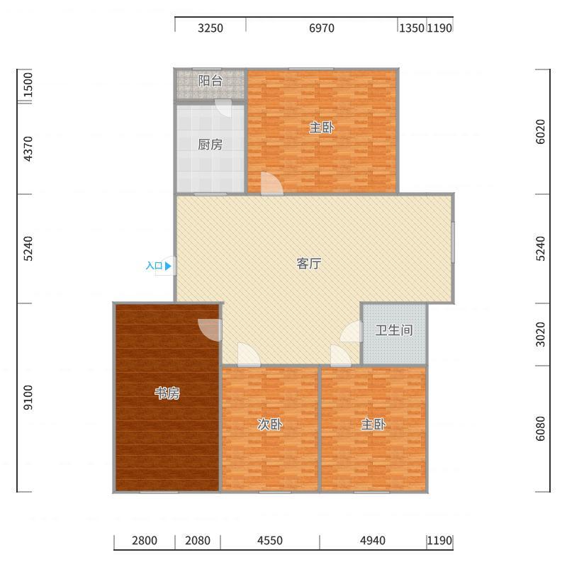 建筑131户型图