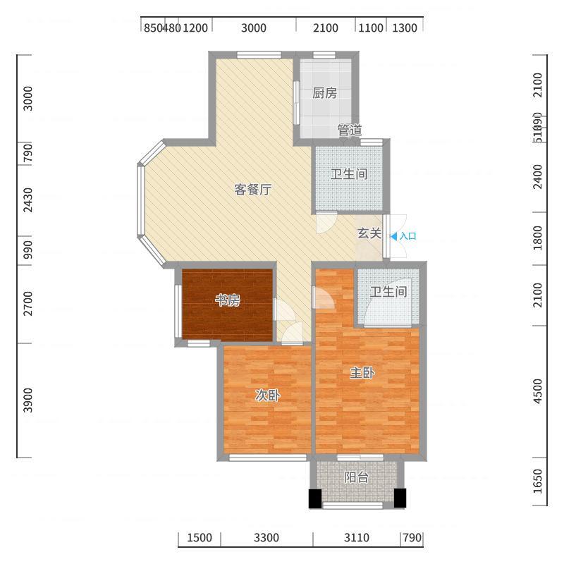 池州_桂花城_2017-10-20-1655户型图