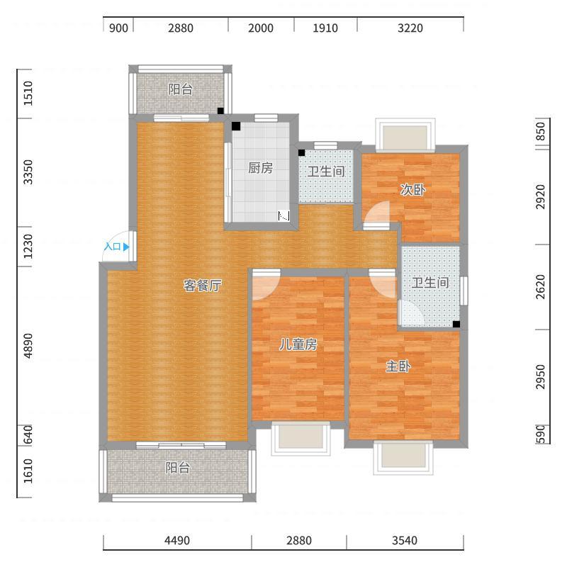 宝城公馆二期户型图