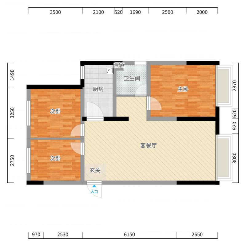 四平_四平万达广场_2017-10-20-1913户型图