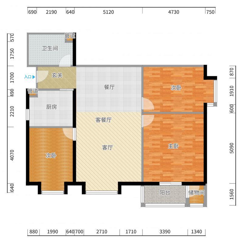 北京上舍户型图