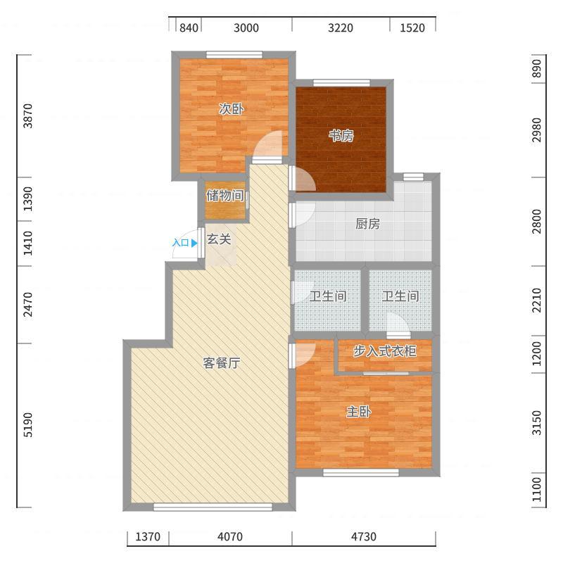天马・时代广场户型图