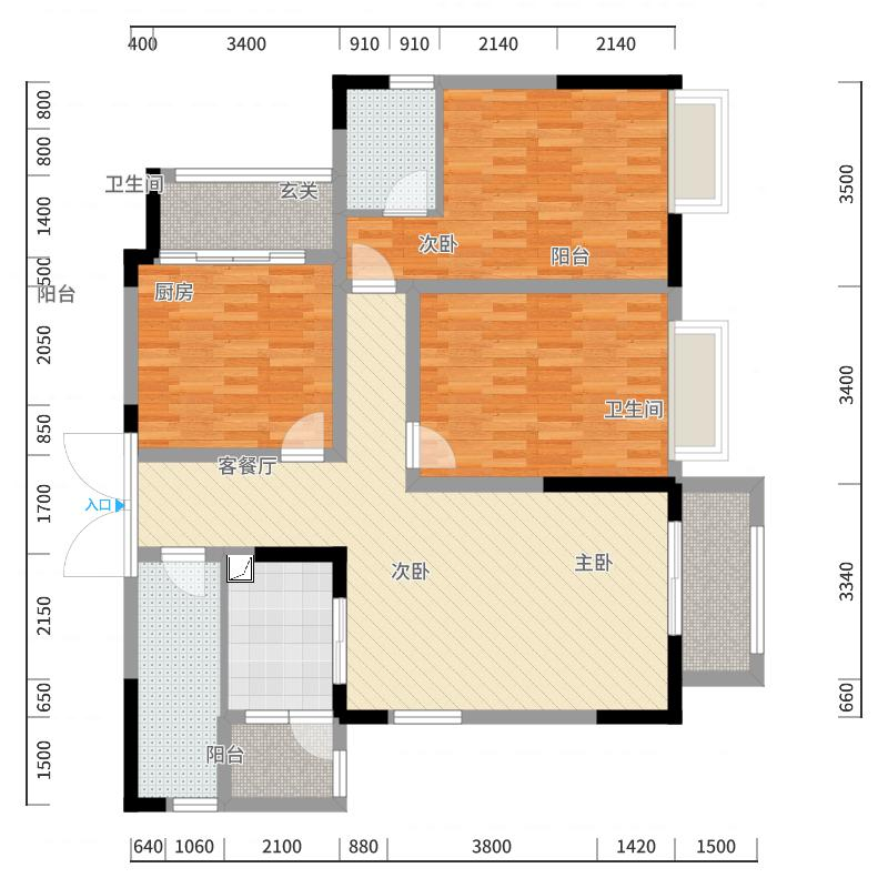 天源2013户型图