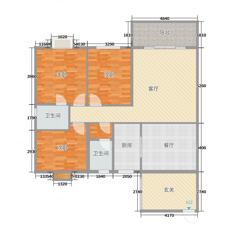 湘南学院三期电梯房户型图