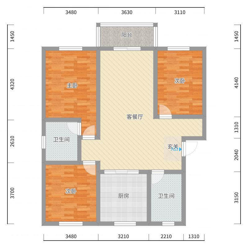 南通_五山家园_2017-10-20-0626户型图