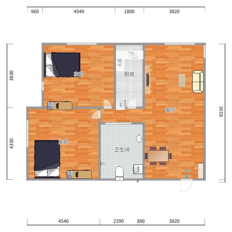 新光家园户型图