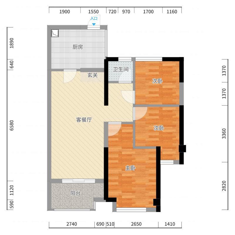 南平_正荣・财富中心_2017-10-20-0936户型图
