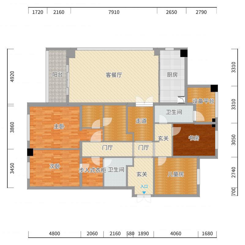 香樟园225濮先生-副本户型图