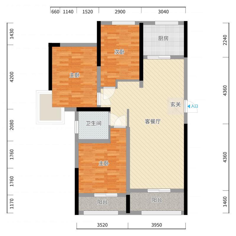 莱芜_汇源首座_2017-10-20-1044户型图