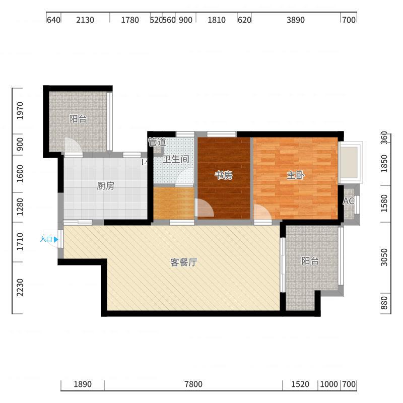 无锡_万达旅游城_2017-10-20-1105户型图