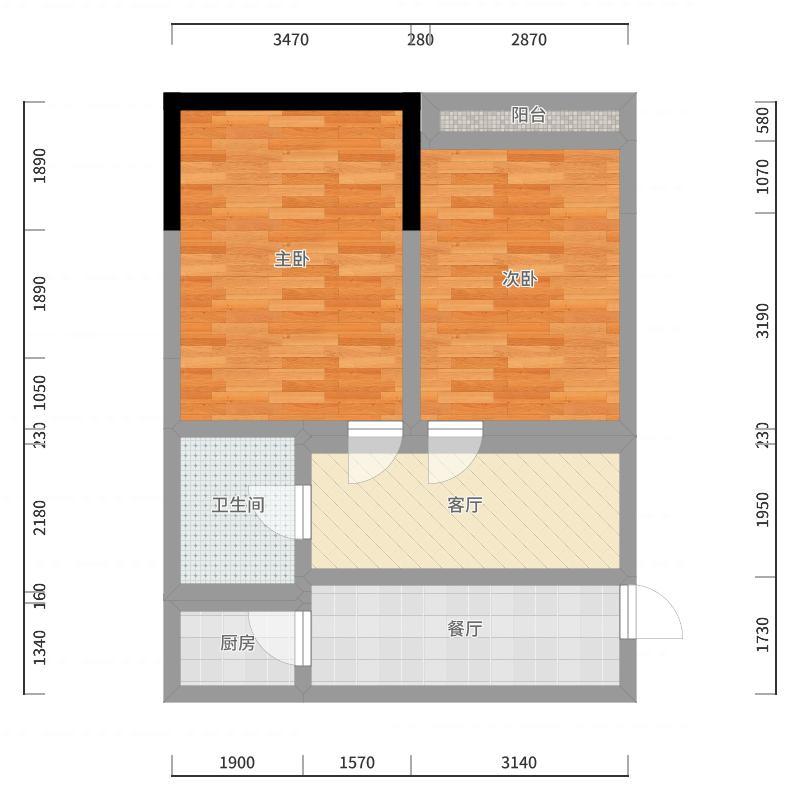 蓝光香江国际户型图