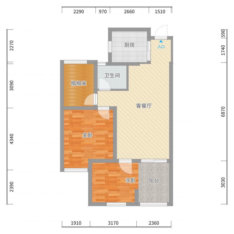 淮安_清江人家_2017-10-20-1238户型图