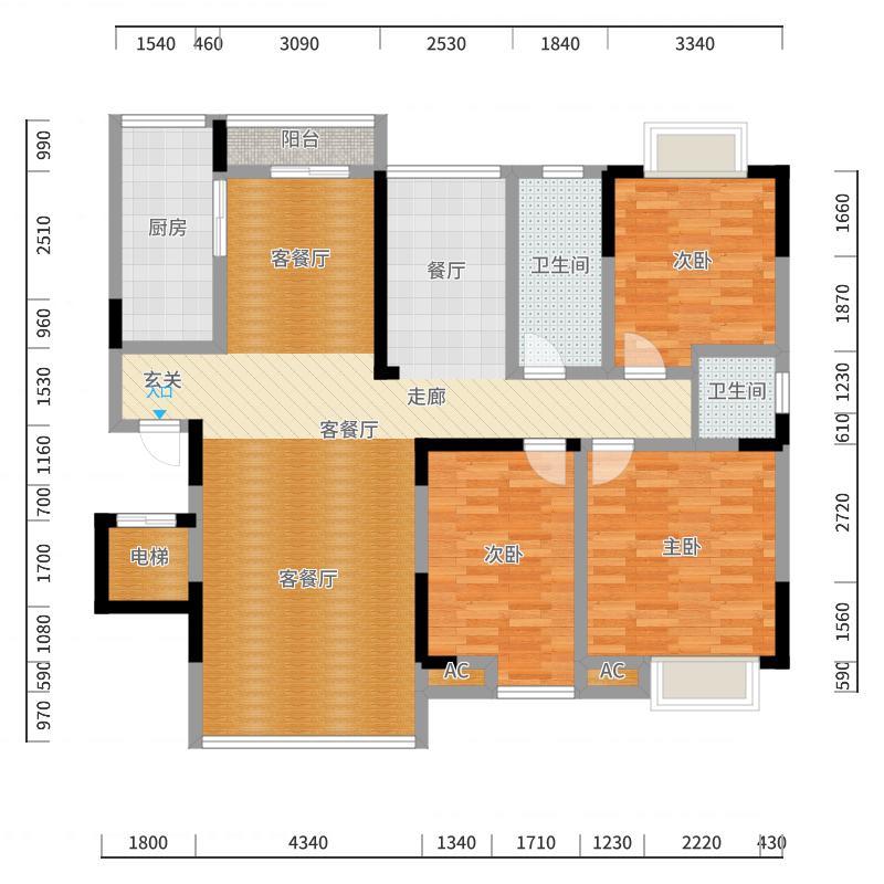 MINI空间户型图