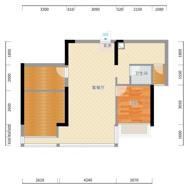 南宁_科瑞江韵_2017-10-20-2051户型图