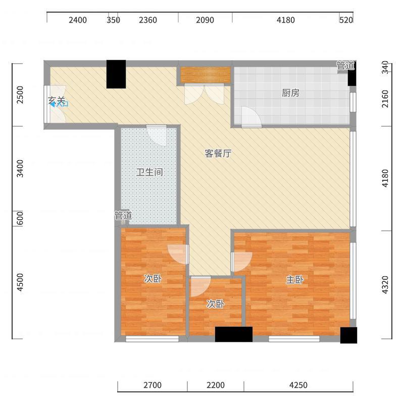 FANG新光大中心户型图