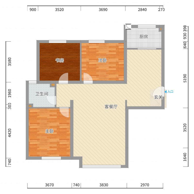 唐山_世纪瑞庭_2017-10-20-2337户型图