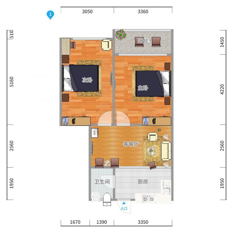 南丹大楼户型图