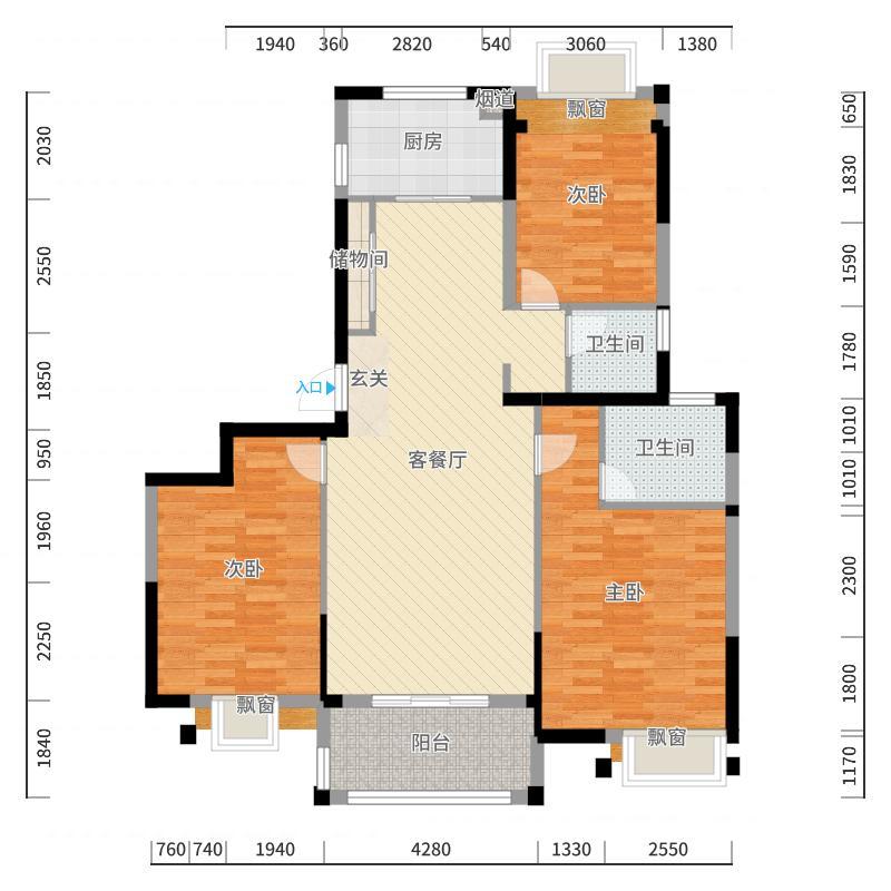 上海_湖山香颂湾_2017-10-21-0909户型图