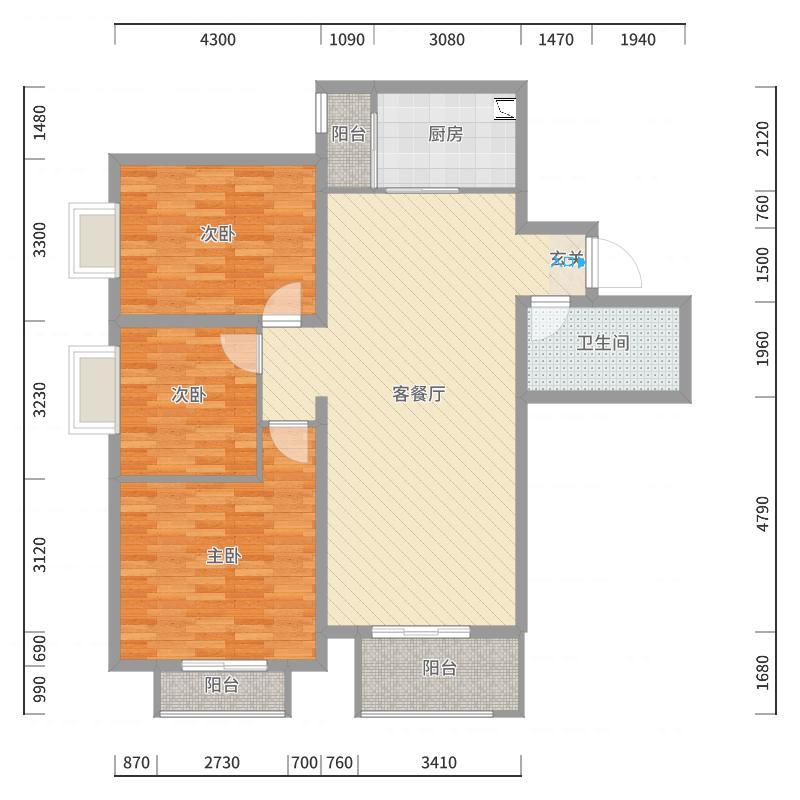 哈尔滨_会展城上城_2017-10-21-0954户型图