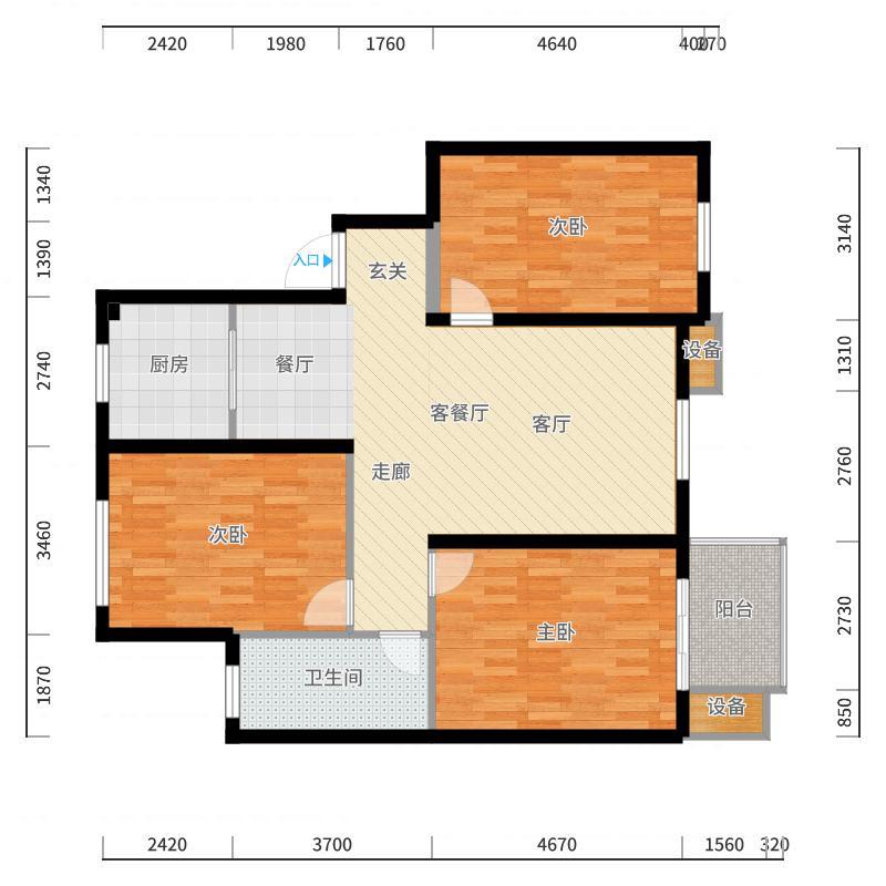 海悦花园户型图