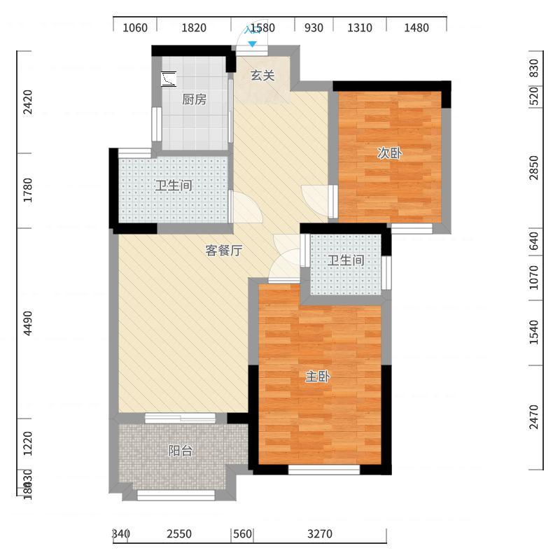 禹州中央广场户型图