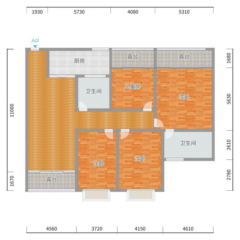 大足自建房户型图