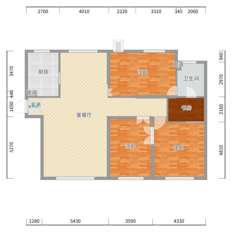 哈尔滨_绿地・城央名邸_2017-10-21-1510户型图