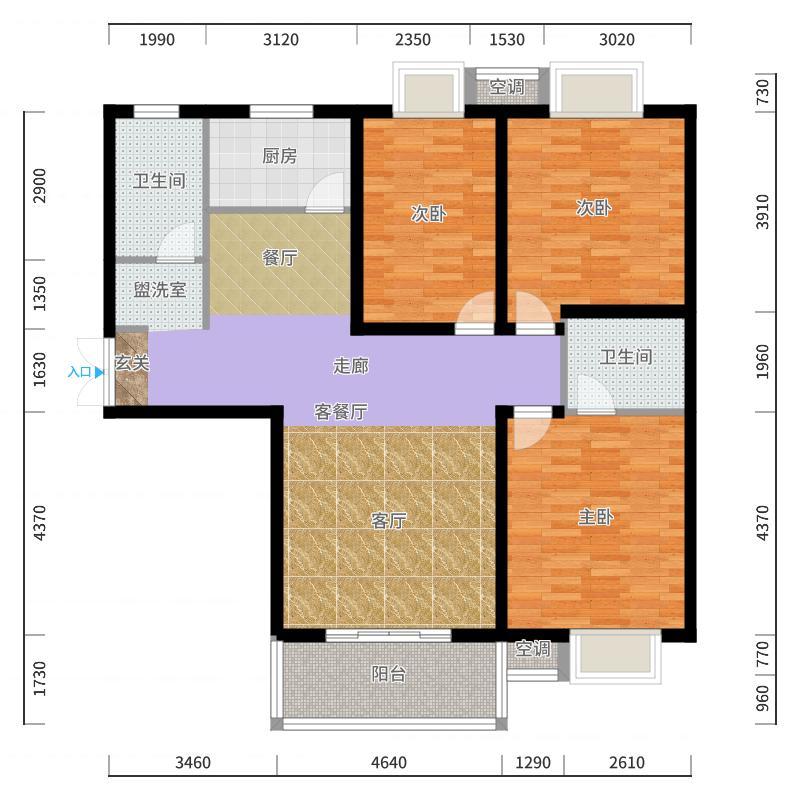 西安_广厦水岸东方_2017-10-21-1516户型图